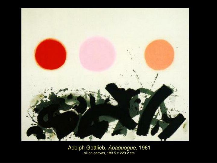 Adolph Gottlieb,
