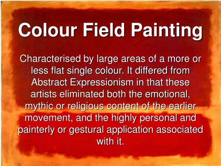 Colour Field Painting