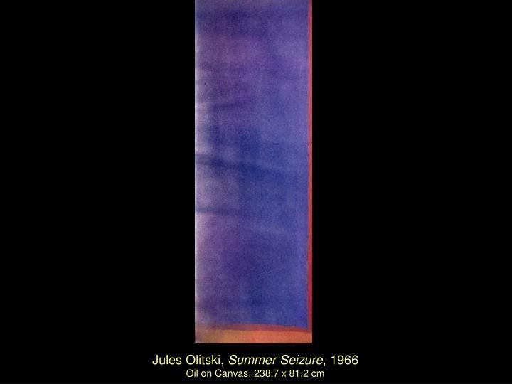 Jules Olitski,