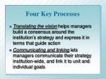 four key processes1