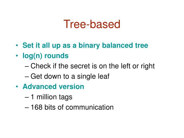 Tree-based