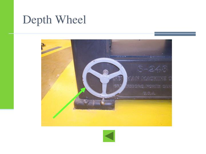 Depth Wheel