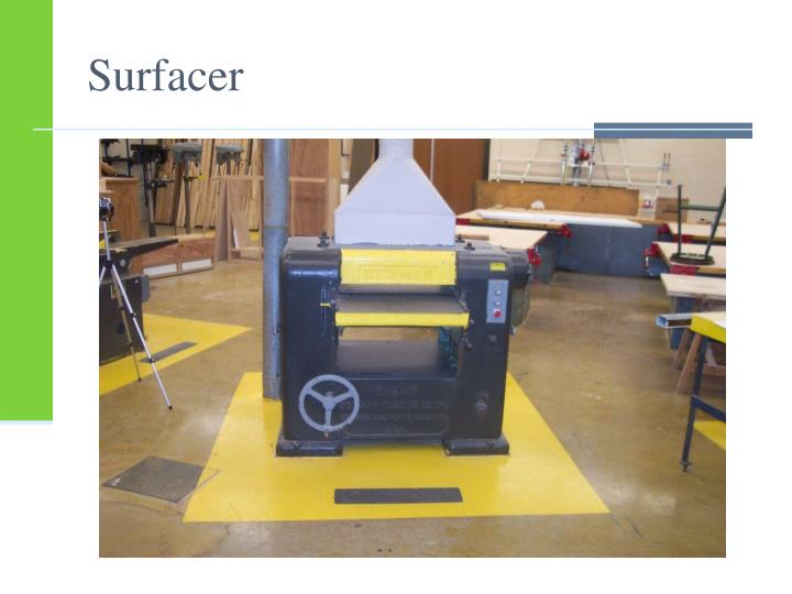Surfacer
