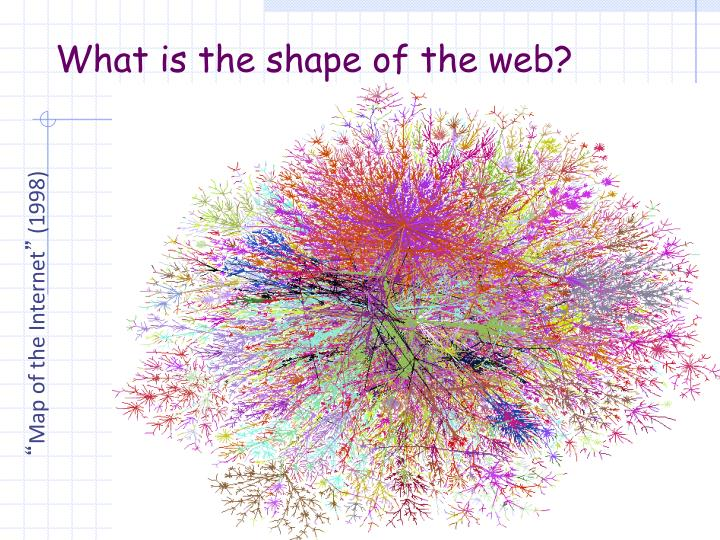 What is the shape of the web?