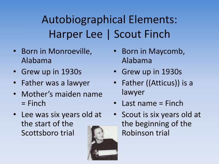 harper lee s influence on scout