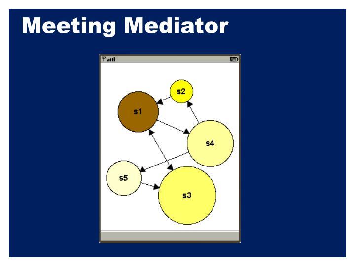 Meeting Mediator