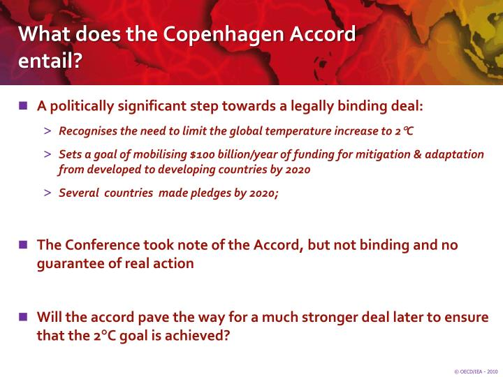 What does the Copenhagen Accord