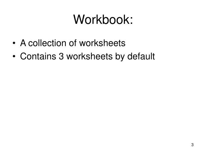 Workbook: