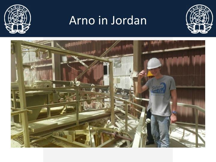 Arno in Jordan