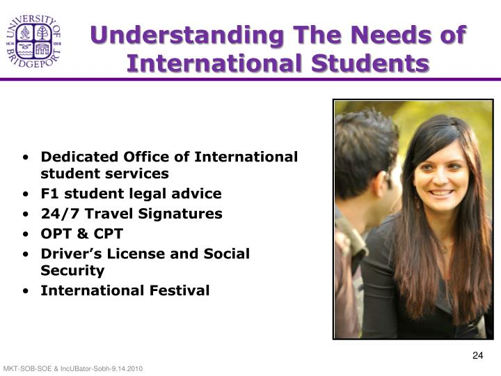 Understanding The Needs of International Students