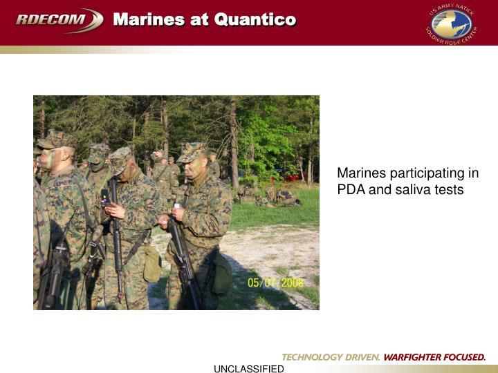 Marines at Quantico