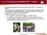 summary nofsr ato 1 st study