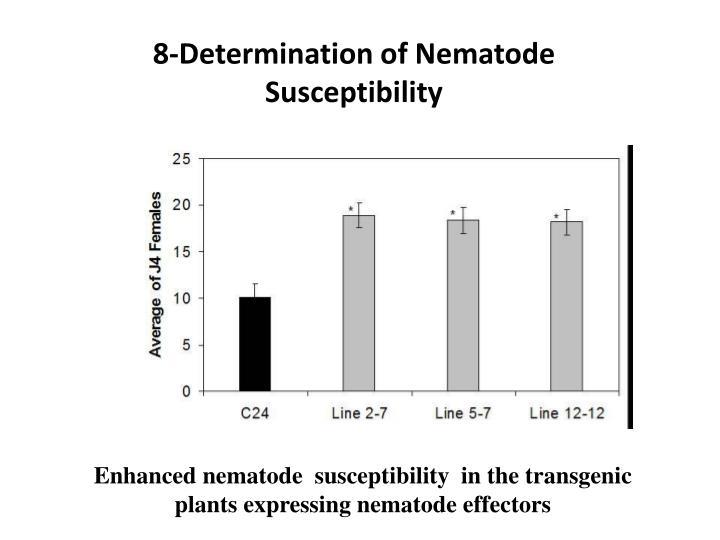8-Determination of Nematode Susceptibility