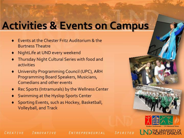 Activities & Events on Campus