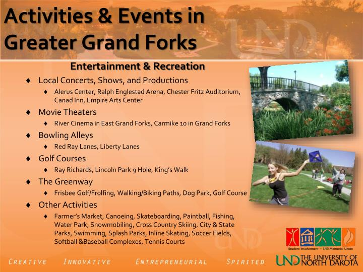 Activities & Events in