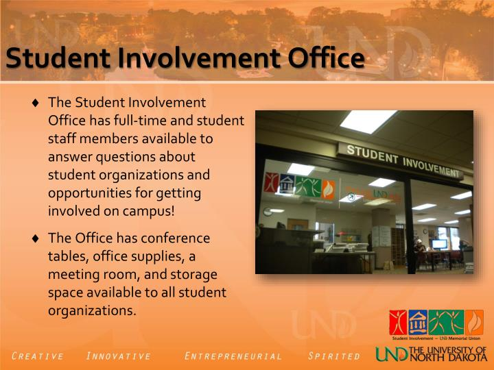 Student Involvement Office