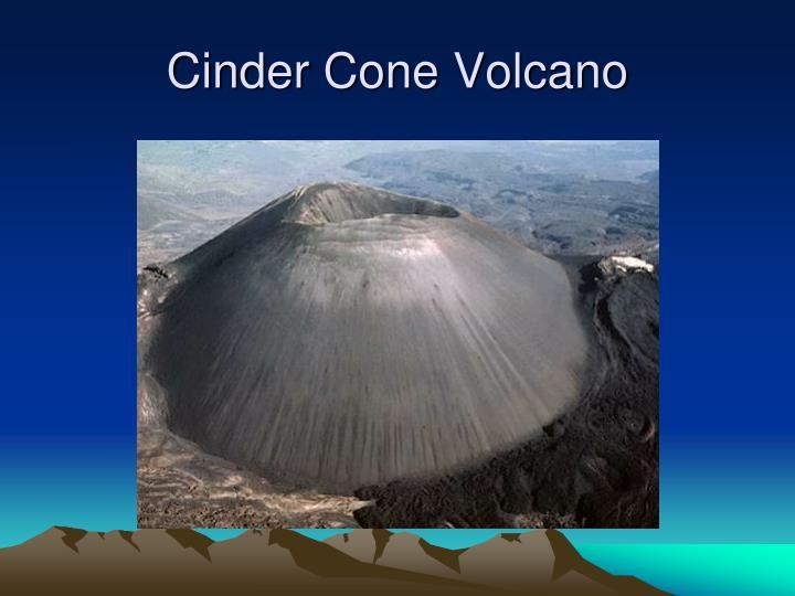 Cinder Cone Volcano