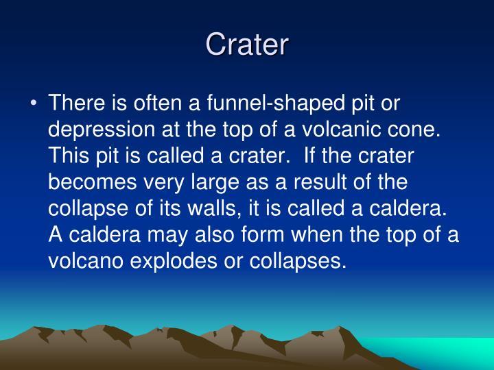 Crater