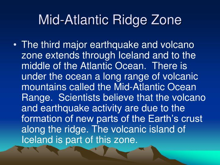 Mid-Atlantic Ridge Zone