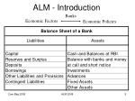 alm introduction