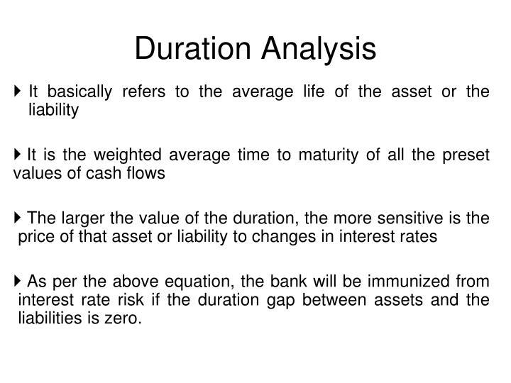 Duration Analysis