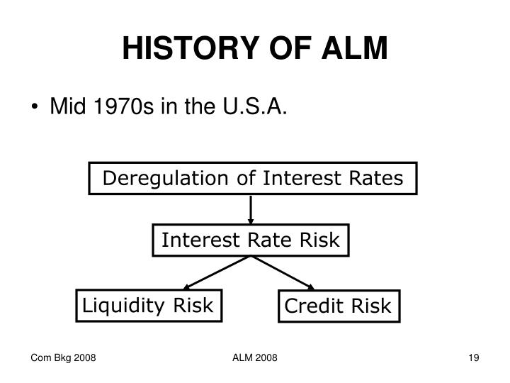 HISTORY OF ALM