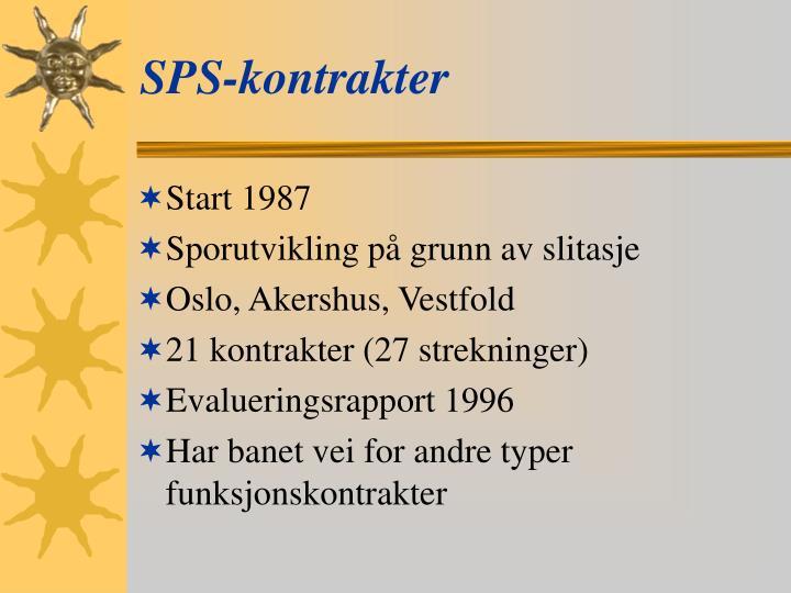 SPS-kontrakter