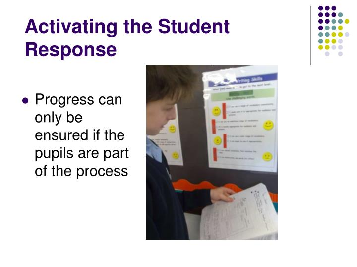 Activating the Student Response