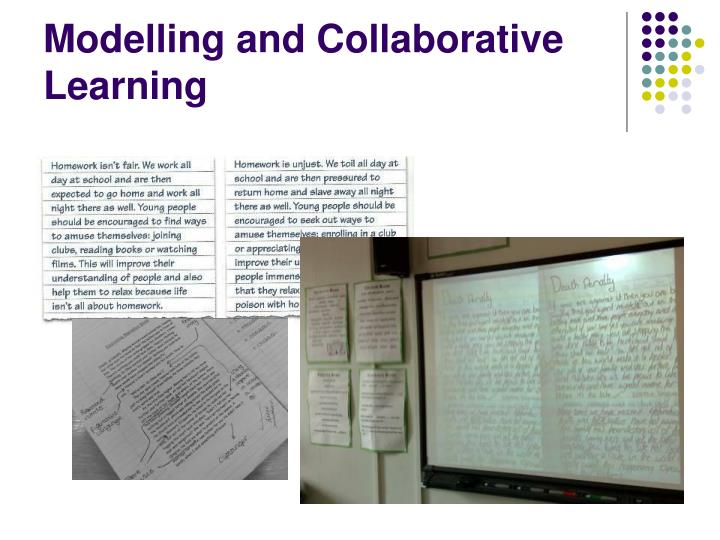 Modelling and Collaborative Learning