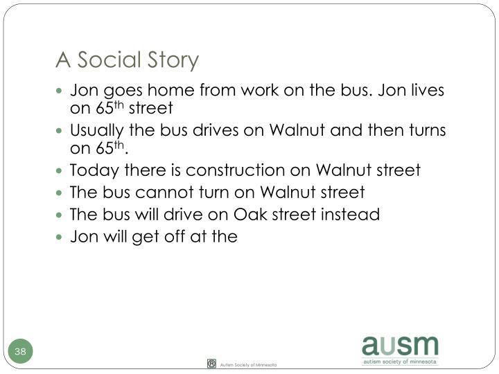 A Social Story