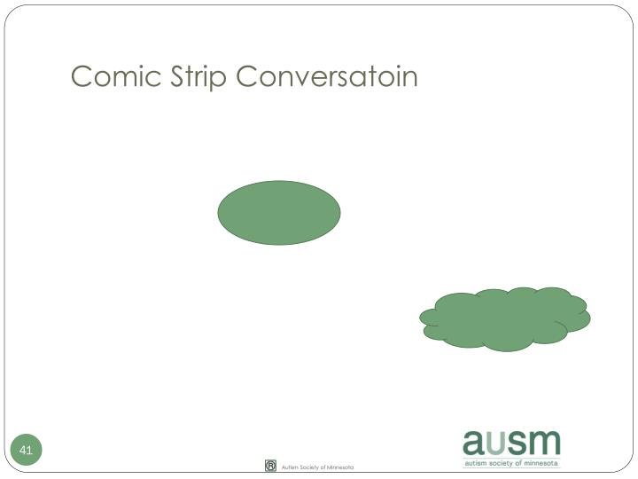 Comic Strip Conversatoin