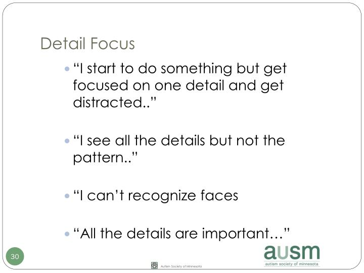 Detail Focus