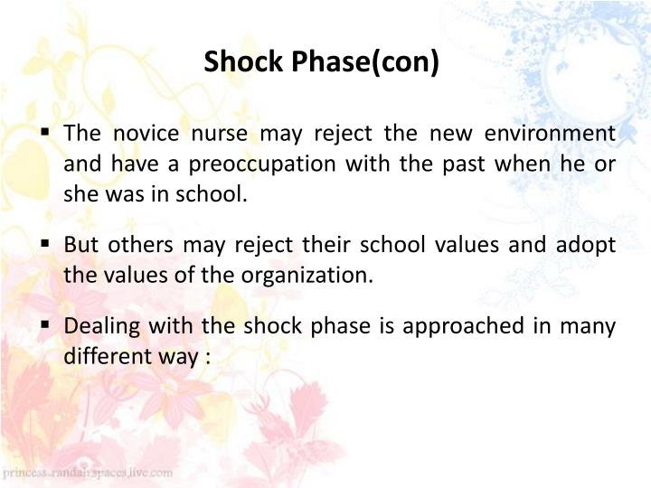 Shock Phase(con)