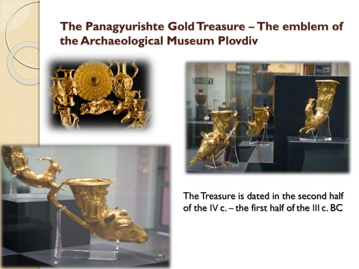 The Panagyurishte Gold Treasure