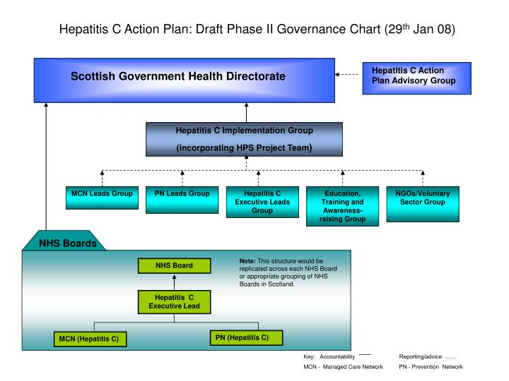 Hepatitis C Action Plan: Draft Phase II Governance Chart (29