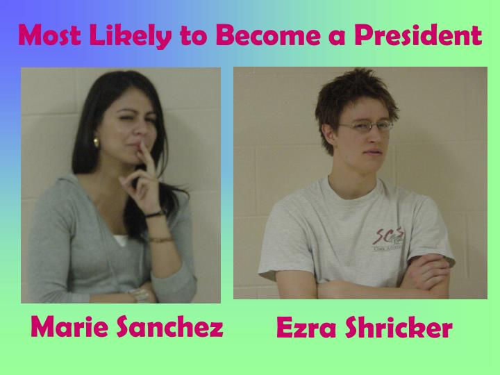 Most Likely to Become a President