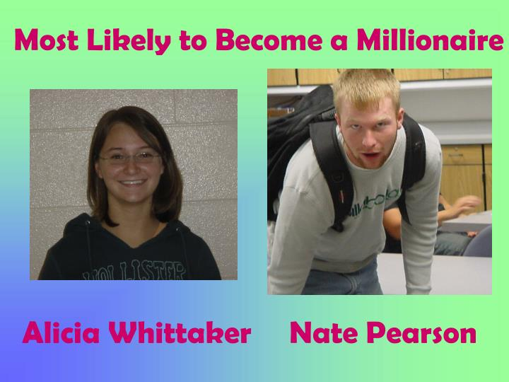 Most Likely to Become a Millionaire