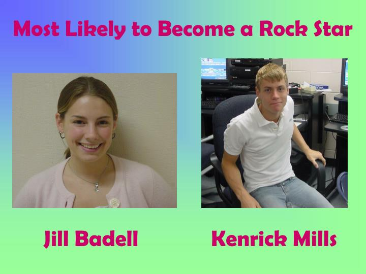 Most Likely to Become a Rock Star