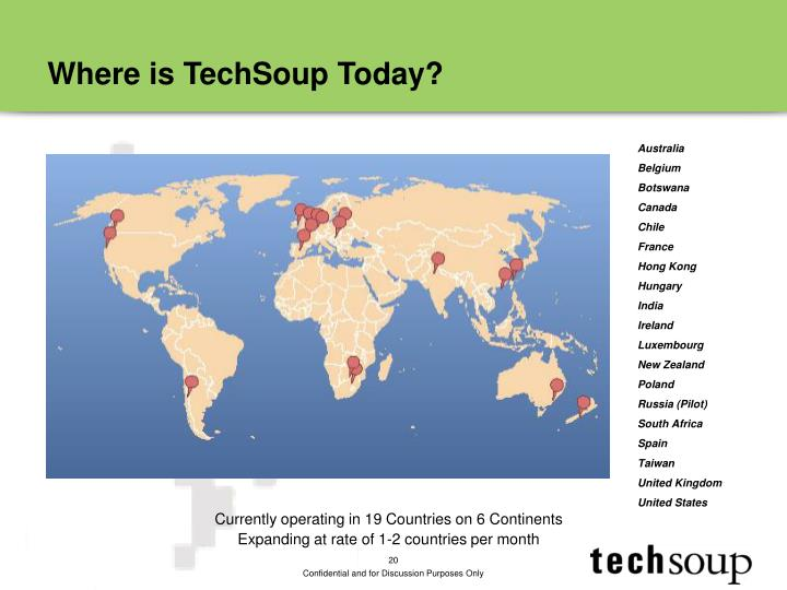 Where is TechSoup Today?