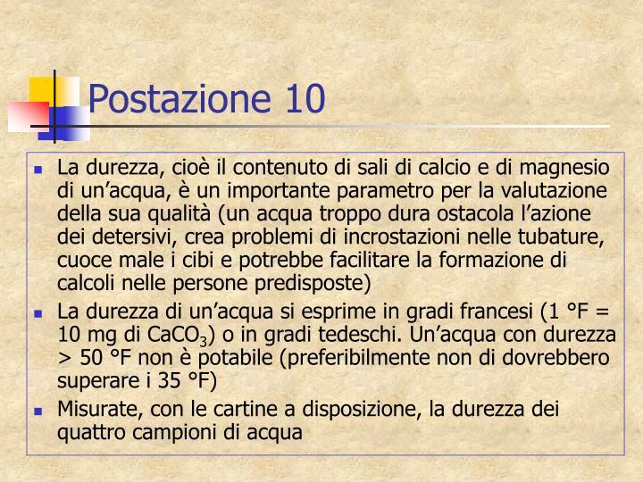 Postazione 10