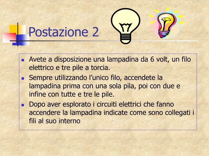 Postazione 2