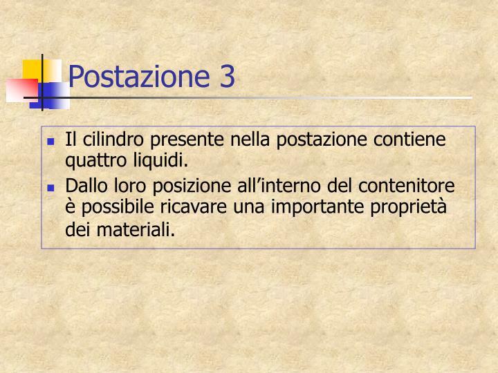 Postazione 3