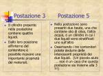 postazione 3 postazione 5