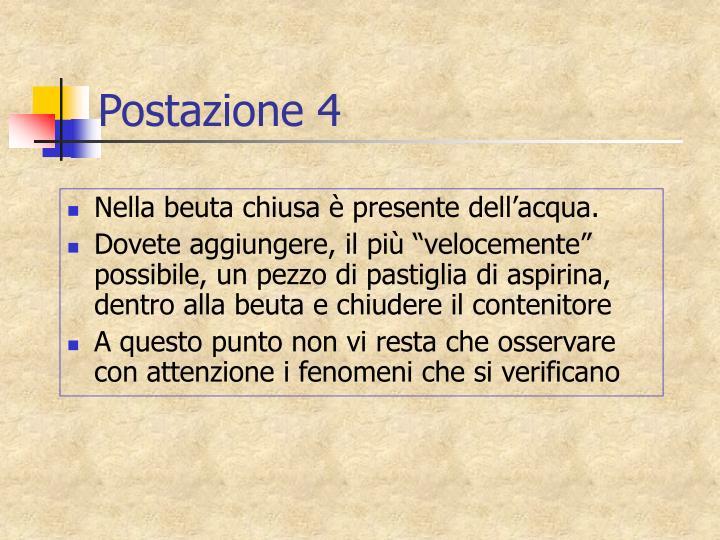 Postazione 4