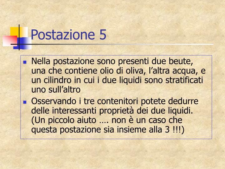 Postazione 5