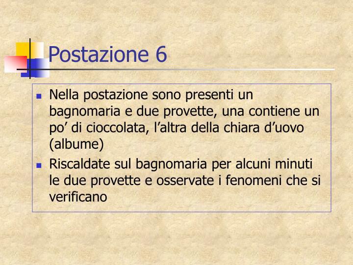 Postazione 6