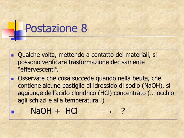 Postazione 8
