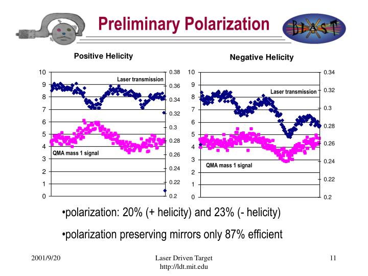 Preliminary Polarization