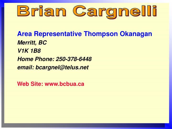 Brian Cargnelli