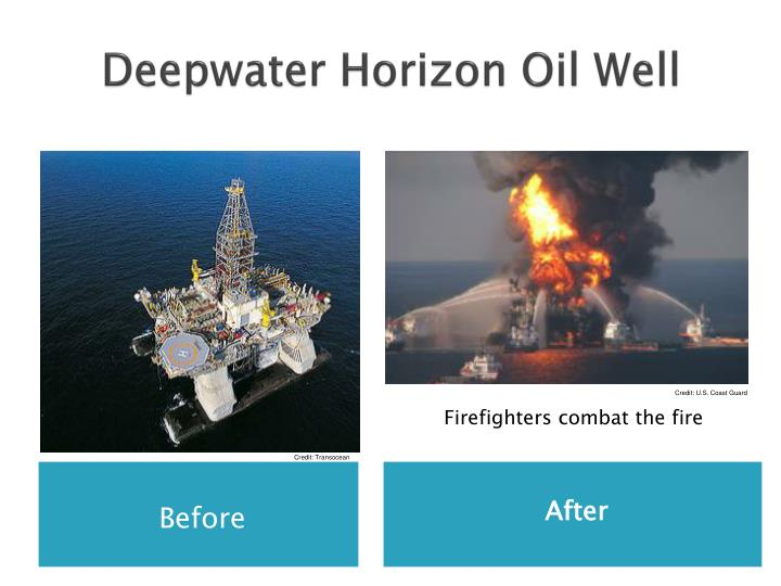 Deepwater Horizon Oil Well